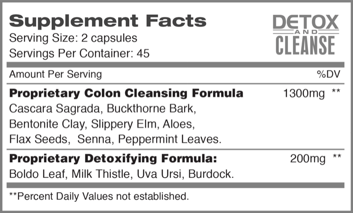 Optimum Health Nutrition™ — Detox and